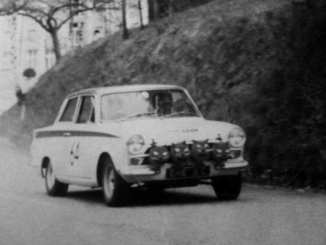 Eric Jackson - Tulip Rally 1966