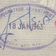 1963 London to Cape Town – January 18th